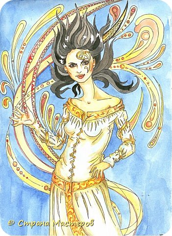 Картина панно рисунок Рисование и живопись Иллюстрации к КБЗ Акварель Гуашь фото 3