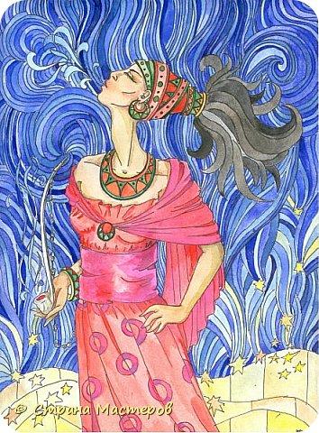 Картина панно рисунок Рисование и живопись Иллюстрации к КБЗ Акварель Гуашь фото 4