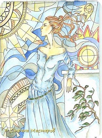 Картина панно рисунок Рисование и живопись Иллюстрации к КБЗ Акварель Гуашь фото 5