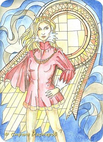 Картина панно рисунок Рисование и живопись Иллюстрации к КБЗ Акварель Гуашь фото 2