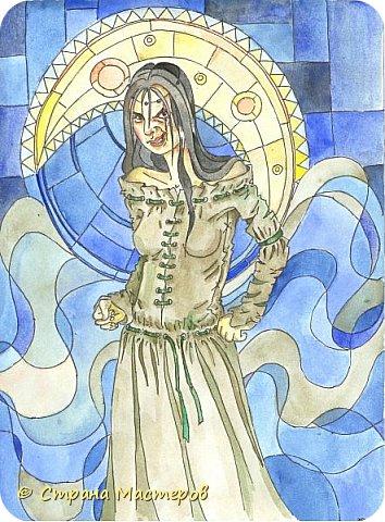 Картина панно рисунок Рисование и живопись Иллюстрации к КБЗ Акварель Гуашь фото 1
