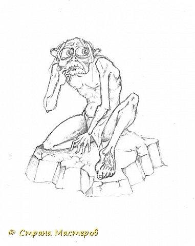 Картина панно рисунок Рисование и живопись Эльфы и прочие волшебные твари Акварель Гуашь Карандаш фото 4