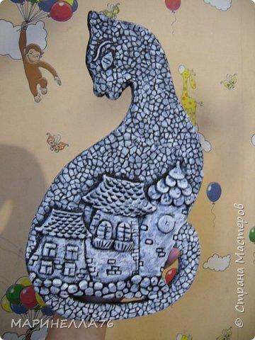 Мастер-класс Поделка изделие Картонаж Папье-маше Ключницы МК Бумага Картон Клей Тесто соленое фото 9
