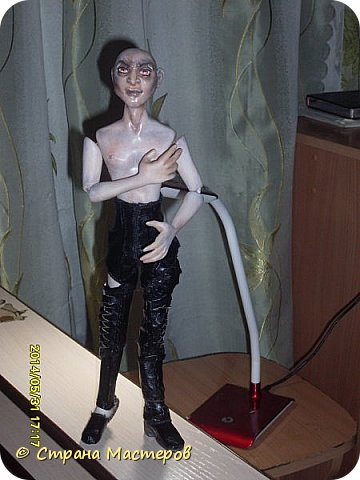 Куклы Лепка Шитьё Ситх вселенский злодей и просто харизматичный мужчина Люблю его Глина Клей Кожа Пластика Ткань Фольга фото 10