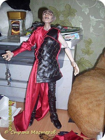 Куклы Лепка Шитьё Ситх вселенский злодей и просто харизматичный мужчина Люблю его Глина Клей Кожа Пластика Ткань Фольга фото 13