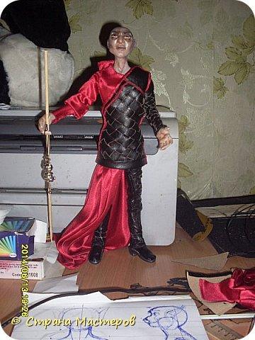 Куклы Лепка Шитьё Ситх вселенский злодей и просто харизматичный мужчина Люблю его Глина Клей Кожа Пластика Ткань Фольга фото 16
