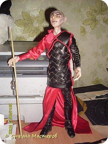 Куклы Лепка Шитьё Ситх вселенский злодей и просто харизматичный мужчина Люблю его Глина Клей Кожа Пластика Ткань Фольга фото 20