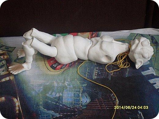 Игрушка Лепка Моя первая шарнирная кукла Бумага Клей Краска Пастель Пластика Пластилин Фольга фото 9
