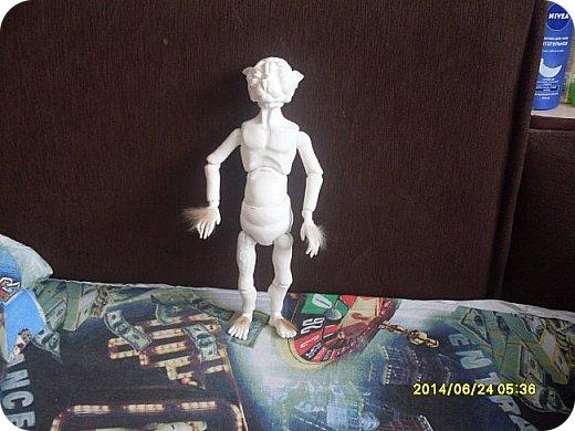Игрушка Лепка Моя первая шарнирная кукла Бумага Клей Краска Пастель Пластика Пластилин Фольга фото 10