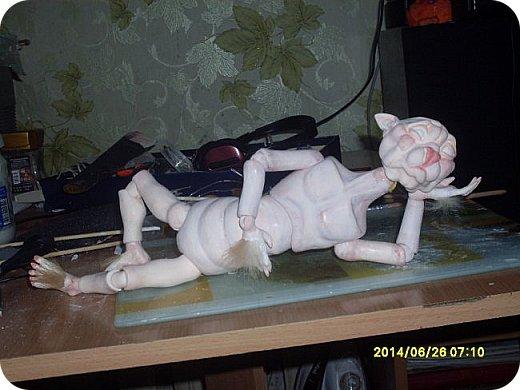 Игрушка Лепка Моя первая шарнирная кукла Бумага Клей Краска Пастель Пластика Пластилин Фольга фото 11