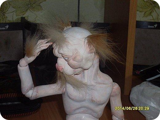 Игрушка Лепка Моя первая шарнирная кукла Бумага Клей Краска Пастель Пластика Пластилин Фольга фото 14