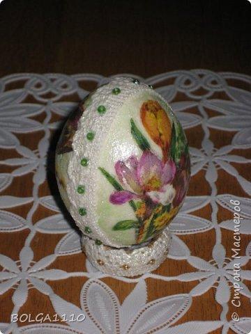 Мастер-класс Поделка изделие Пасха Как сделать заготовку для яиц быстро и недорого Клей Салфетки Скорлупа яичная фото 15