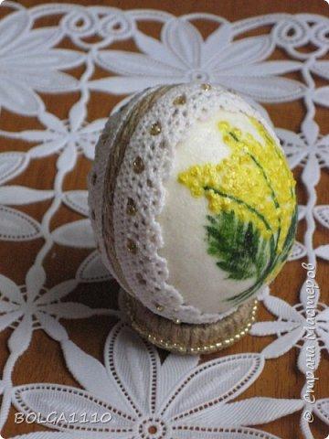 Мастер-класс Поделка изделие Пасха Как сделать заготовку для яиц быстро и недорого Клей Салфетки Скорлупа яичная фото 14