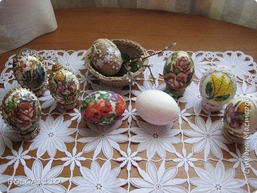 Мастер-класс Поделка изделие Пасха Как сделать заготовку для яиц быстро и недорого Клей Салфетки Скорлупа яичная фото 17