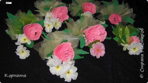 Свит-дизайн Бумагопластика Сладкая весна Бумага гофрированная фото 2