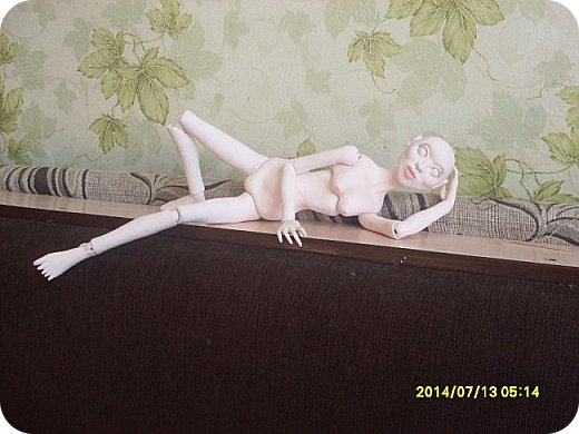 Куклы Лепка Новая идея в разработке Шарнирная кукла Бумага Клей Пастель Пластика Проволока фото 6