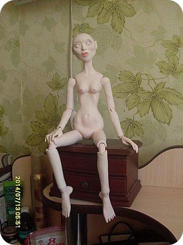 Куклы Лепка Новая идея в разработке Шарнирная кукла Бумага Клей Пастель Пластика Проволока фото 11