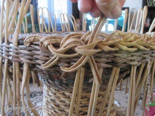 Мастер-класс Поделка изделие Плетение Загибки ? или Украшения? Трубочки бумажные фото 22