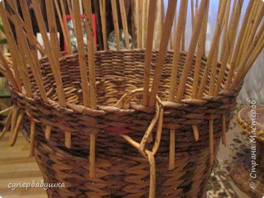 Мастер-класс Поделка изделие Плетение Две дочки и падчерица Трубочки бумажные фото 4