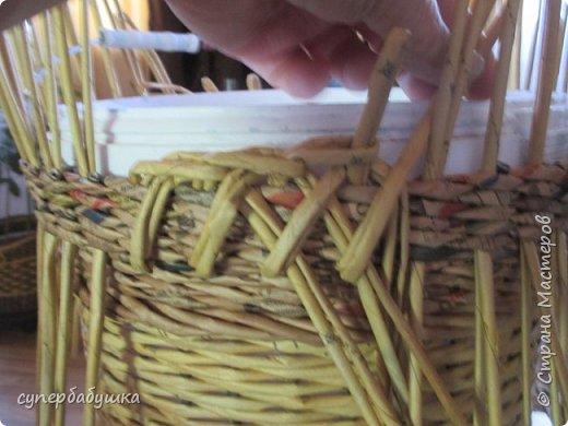 Мастер-класс Поделка изделие Плетение Две дочки и падчерица Трубочки бумажные фото 15