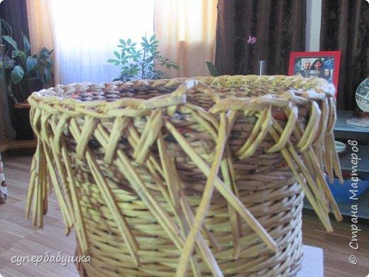 Мастер-класс Поделка изделие Плетение Две дочки и падчерица Трубочки бумажные фото 17
