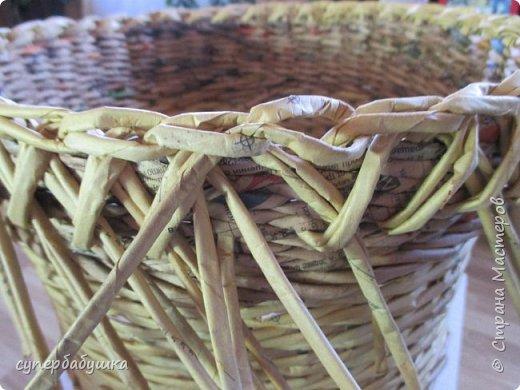 Мастер-класс Поделка изделие Плетение Две дочки и падчерица Трубочки бумажные фото 18
