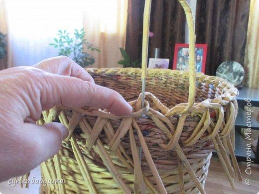 Мастер-класс Поделка изделие Плетение Две дочки и падчерица Трубочки бумажные фото 19