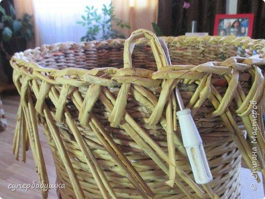 Мастер-класс Поделка изделие Плетение Две дочки и падчерица Трубочки бумажные фото 21