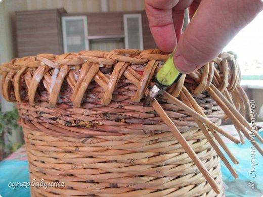 Мастер-класс Поделка изделие Плетение Две дочки и падчерица Трубочки бумажные фото 23