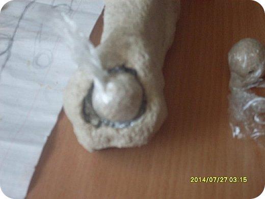 Куклы Мастер-класс Лепка Шарнирная кукла Продолжение Шарниры суставы конечности Бумага Клей фото 3