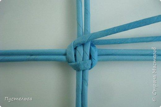 Поделка изделие Пасха Плетение Яичко Бумага газетная Трубочки бумажные фото 3
