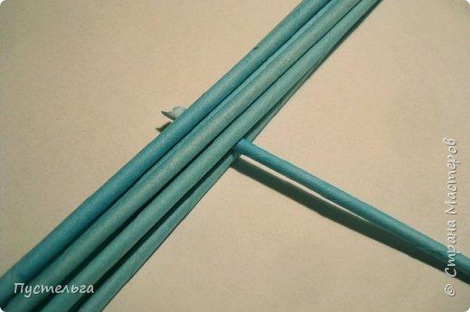 Поделка изделие Пасха Плетение Яичко Бумага газетная Трубочки бумажные фото 10