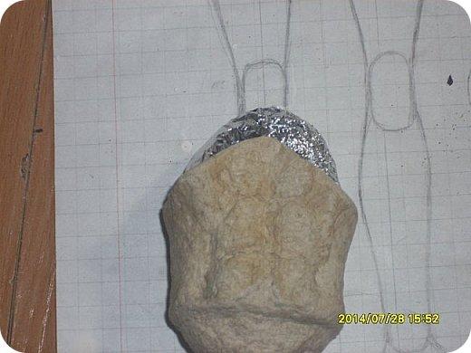 Куклы Мастер-класс Лепка Шарнирная кукла Формируем тело Руки и ноги Бумага Клей Пластика фото 6