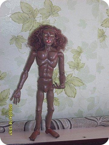 Куклы Лепка Новичок Эльф - назовем его Тутанхамон Брат Орка Бумага Клей Пластика фото 20