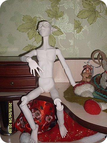 Куклы Лепка Новичок Эльф - назовем его Тутанхамон Брат Орка Бумага Клей Пластика фото 6