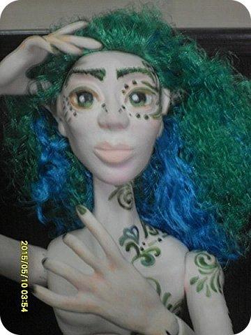 Игрушка Куклы Лепка Преображени Тутанхамона Лесной Эльф Бумага Клей Краска Ленты Пластика фото 15