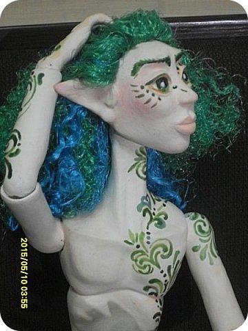 Игрушка Куклы Лепка Преображени Тутанхамона Лесной Эльф Бумага Клей Краска Ленты Пластика фото 16