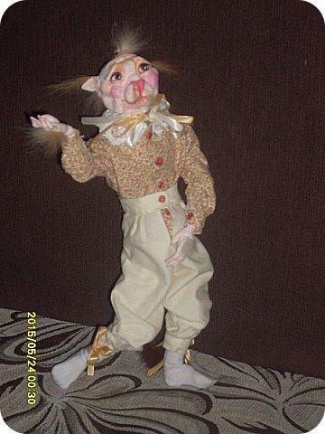 Куклы Лепка Шитьё Готовимся к кукольному балу Каппельдябр Кпишт Бумага Клей Краска Кружево Ленты Пастель Пластика Ткань фото 5