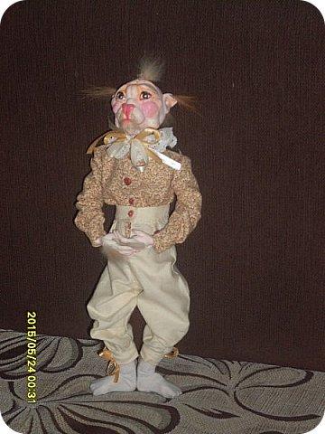 Куклы Лепка Шитьё Готовимся к кукольному балу Каппельдябр Кпишт Бумага Клей Краска Кружево Ленты Пастель Пластика Ткань фото 6