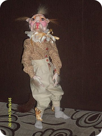 Куклы Лепка Шитьё Готовимся к кукольному балу Каппельдябр Кпишт Бумага Клей Краска Кружево Ленты Пастель Пластика Ткань фото 7