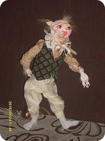 Куклы Лепка Шитьё Готовимся к кукольному балу Каппельдябр Кпишт Бумага Клей Краска Кружево Ленты Пастель Пластика Ткань фото 8