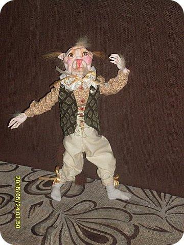Куклы Лепка Шитьё Готовимся к кукольному балу Каппельдябр Кпишт Бумага Клей Краска Кружево Ленты Пастель Пластика Ткань фото 9
