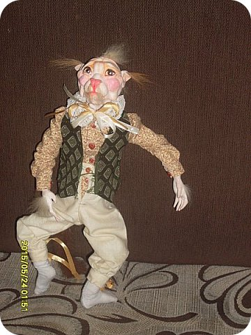 Куклы Лепка Шитьё Готовимся к кукольному балу Каппельдябр Кпишт Бумага Клей Краска Кружево Ленты Пастель Пластика Ткань фото 10