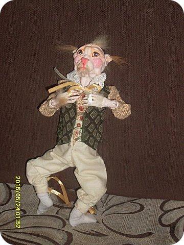 Куклы Лепка Шитьё Готовимся к кукольному балу Каппельдябр Кпишт Бумага Клей Краска Кружево Ленты Пастель Пластика Ткань фото 11
