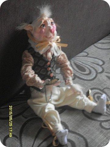Куклы Лепка Шитьё Готовимся к кукольному балу Каппельдябр Кпишт Бумага Клей Краска Кружево Ленты Пастель Пластика Ткань фото 13