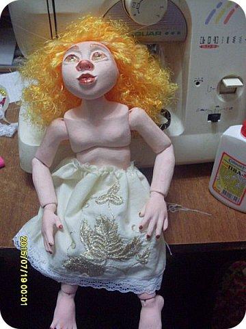 Гардероб Куклы Кукольная жизнь Вышивка Шитьё Платье для Гархоллы Кружево Ленты Нитки Ткань фото 3