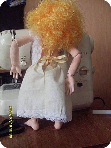 Гардероб Куклы Кукольная жизнь Вышивка Шитьё Платье для Гархоллы Кружево Ленты Нитки Ткань фото 5
