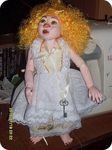 Гардероб Куклы Кукольная жизнь Вышивка Шитьё Платье для Гархоллы Кружево Ленты Нитки Ткань фото 7