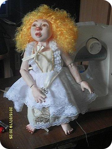 Гардероб Куклы Кукольная жизнь Вышивка Шитьё Платье для Гархоллы Кружево Ленты Нитки Ткань фото 8