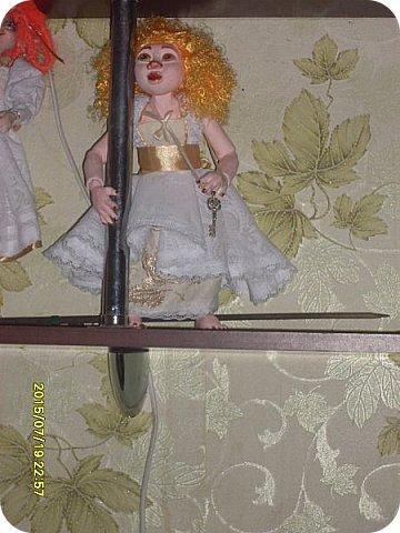 Гардероб Куклы Кукольная жизнь Вышивка Шитьё Платье для Гархоллы Кружево Ленты Нитки Ткань фото 9